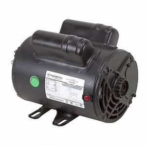 2 Hp 120 Volt Ac 3450 Rpm Marathon Compressor Motor