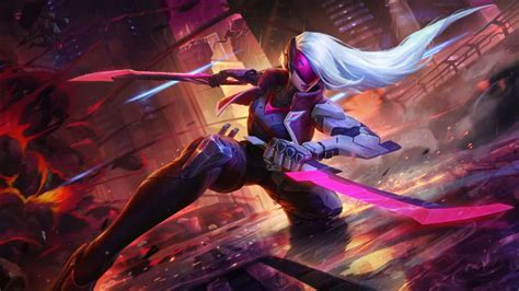 project katarina league  legends wallpapers hd