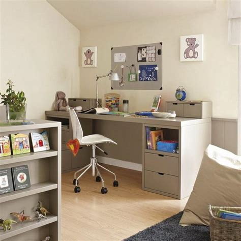 Tables for Kids Study Areas, Organizing Children Bedroom Designs for School Success