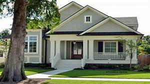 Craftsman Bungalow Narrow Lot House Plans Narrow Lot ...