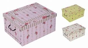 Aufbewahrungsboxen Pappe Mit Deckel : 2x aufbewahrungs box mit deckel proventialmuster kiste karton schachtel pappe ~ Bigdaddyawards.com Haus und Dekorationen
