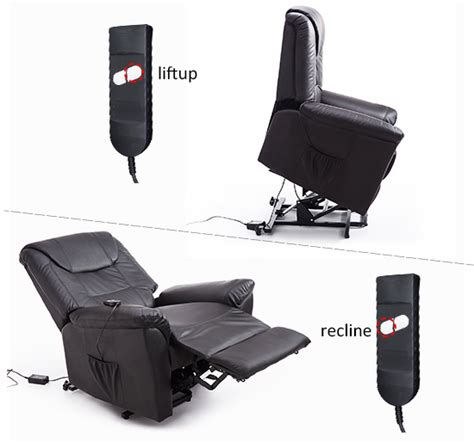 lift chair power electric recliner leather assist remote
