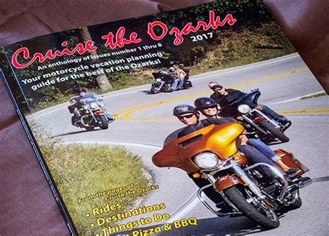 Free Motorcycle Ride Maps For Arkansas And Missouri