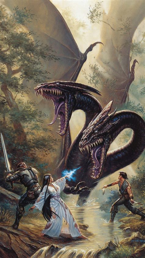 fantasy fight dragon iphone  wallpapers hd