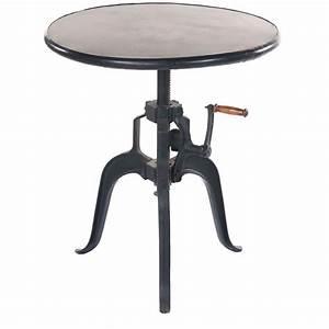 Table Basse Reglable Hauteur : table cuisine reglable en hauteur ~ Carolinahurricanesstore.com Idées de Décoration