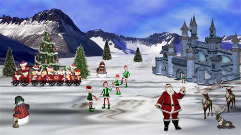 Santa S Workshop Wallpaper Animated - pole wallpapers 183