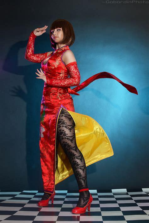 anna williams tekken  cosplay  gabardin  deviantart