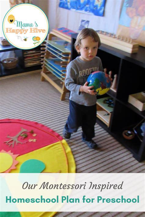 montessori inspired homeschool plan for preschool 192 | Preschool Plans 4 years