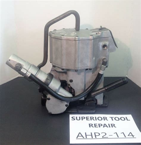 signode ahp  pneumatic combo tool    steel strapping ebay