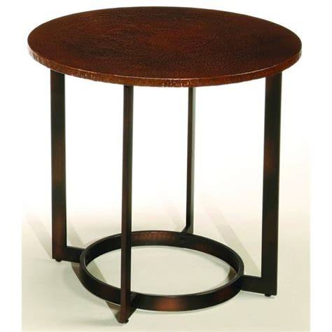copper side table property hammary nueva end table in copper t2063235 00