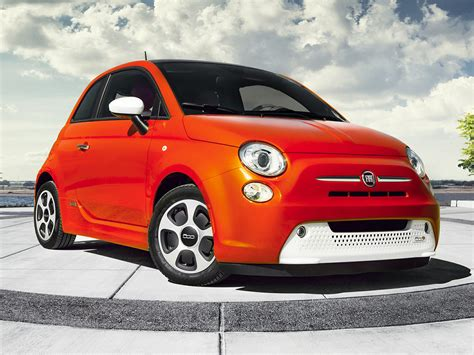 Fiat Electric Car by New 2017 Fiat 500e Price Photos Reviews Safety