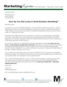 Business Sales Letter Marketing