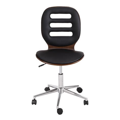 joveco bentwood back adjustable home desk swivel