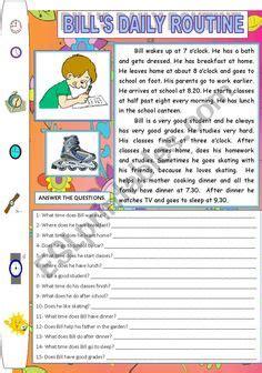 present simple worksheets esl grammar tenses