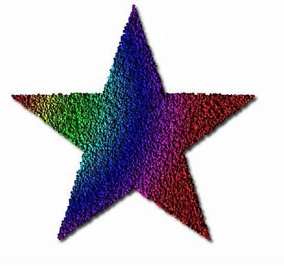 Stars Star Clipart Rainbow Colourful Clip Cliparts