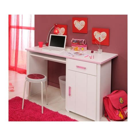 bureau de chambre pas cher bureau blanc chambre fille paihhi com