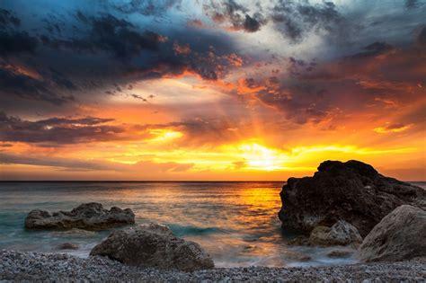 wordless wednesday amazing sunsets   world