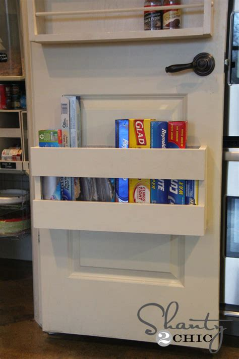 the door kitchen organizer kitchen organization diy foil more organizer shanty 7256