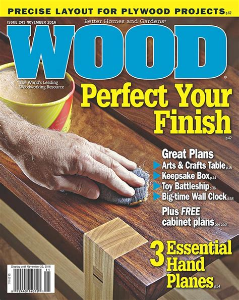 wood issue  november  woodworking plan  wood magazine