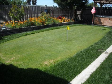Cost Of Backyard Putting Green - artificial putting greens for backyards cost best
