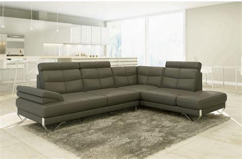 mobilier de canapé d angle canapé d 39 angle artiste en cuir haut de gamme italien