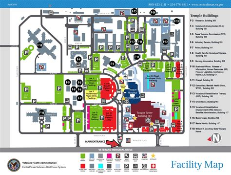 va national service help desk facility maps central texas veterans health care system