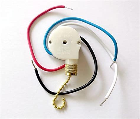 ceiling fan pull switch 4 wires genuine zing ear ze 109 ceiling fan pull chain switch