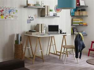 Bureau Sur Tréteaux : 39 id es d co de tr teaux pour cr er une table ou un bureau ~ Teatrodelosmanantiales.com Idées de Décoration