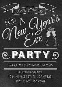 New Years Eve Party Invitations | Party Invitations Templates