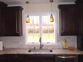 double pendant lights over sink traditional kitchen newark by kraftmaster renovations