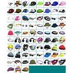 Splatoon Headgear Resource Sheet Icons Spriters Clothes