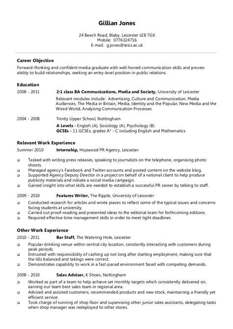 Writing a cv get's a lot easier using our cv maker. Example chronological CV