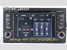 Android 42 20022008 Audi A4 Aftermarket Stereo In Dash