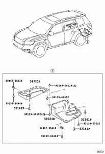 Toyota Highlander Rear Body Panel  Lower   Panel  Body