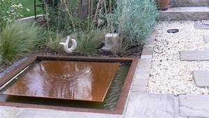 Metall Im Garten : garten atelier jutta curtius metall cortenstahlbecken ~ Lizthompson.info Haus und Dekorationen
