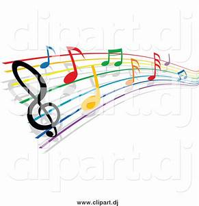 Colorful Music Staff Clipart | Clipart Panda - Free ...