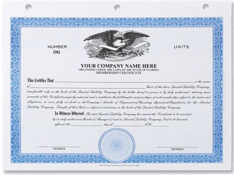 Corporate Secretary Certificate Template