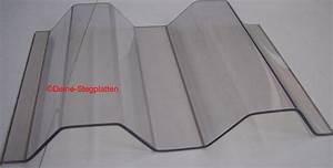 Wellplatten Polycarbonat Hagelfest : wellplatten aus polycarbonat k76 18 trapezwelle hagelfest glasklar ebay ~ Orissabook.com Haus und Dekorationen