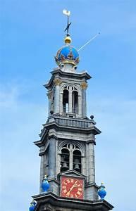 Igreja Westerkerk Em Amsterd U00e3o Imagem De Stock