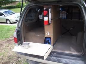 cargo kitchen kennel and sleeping platform ih8mud forum