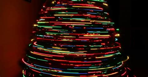 christmas ideas spinning christmas tree
