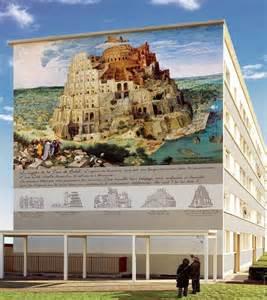 Mur Peint Lyon Tour De Babel les murs peints de lyon