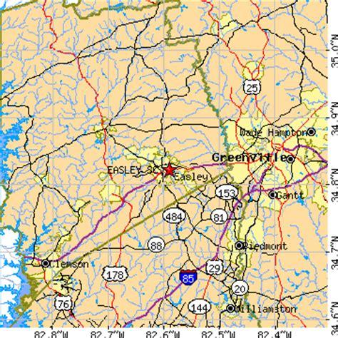 foto de Easley South Carolina (SC) ~ population data races
