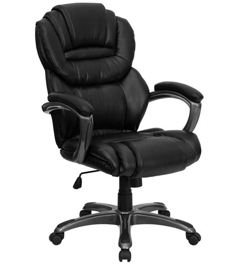 High Back Leather by High Back Leather Office Chair In Office Chairs