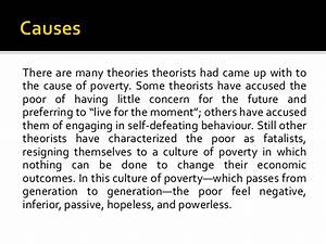 cause and effect of poverty essay cause and effect of poverty essay cause and effect of poverty essay
