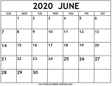 june calendar printable calendarcom