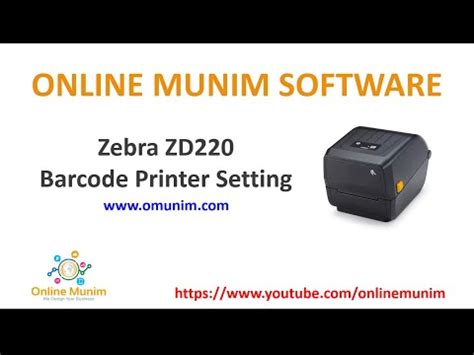 Setting up the zebra zd220 printer driver for our sew02 printing package deal Zd220 Printer Drivers : Zebra Zd220t 4 Value Thermal ...