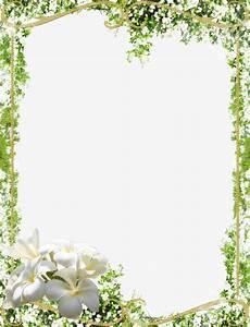 Green leaves border, Mood Frame, Frame, Flowers PNG Image ...