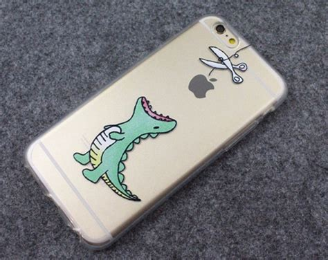 Dinosaur Waiting To Eat Apple Cute Phone Soft Case For Iphone 5/5s/6/6s Plus Iphone Chargers Through The Years Unlocking On 3 App At Bell Charger Going In And Out For International Use Linked To Apple Id Sainsburys