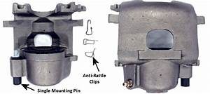 Easy Install Kelsey-hayes Caliper And Brake Pad Anti-rattle Spring Clips
